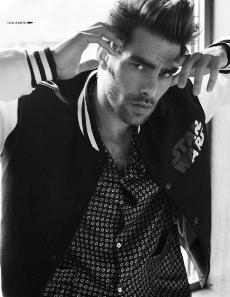 Jon Kortajarena Inspires in Designer Menswear for Esquire Turkey
