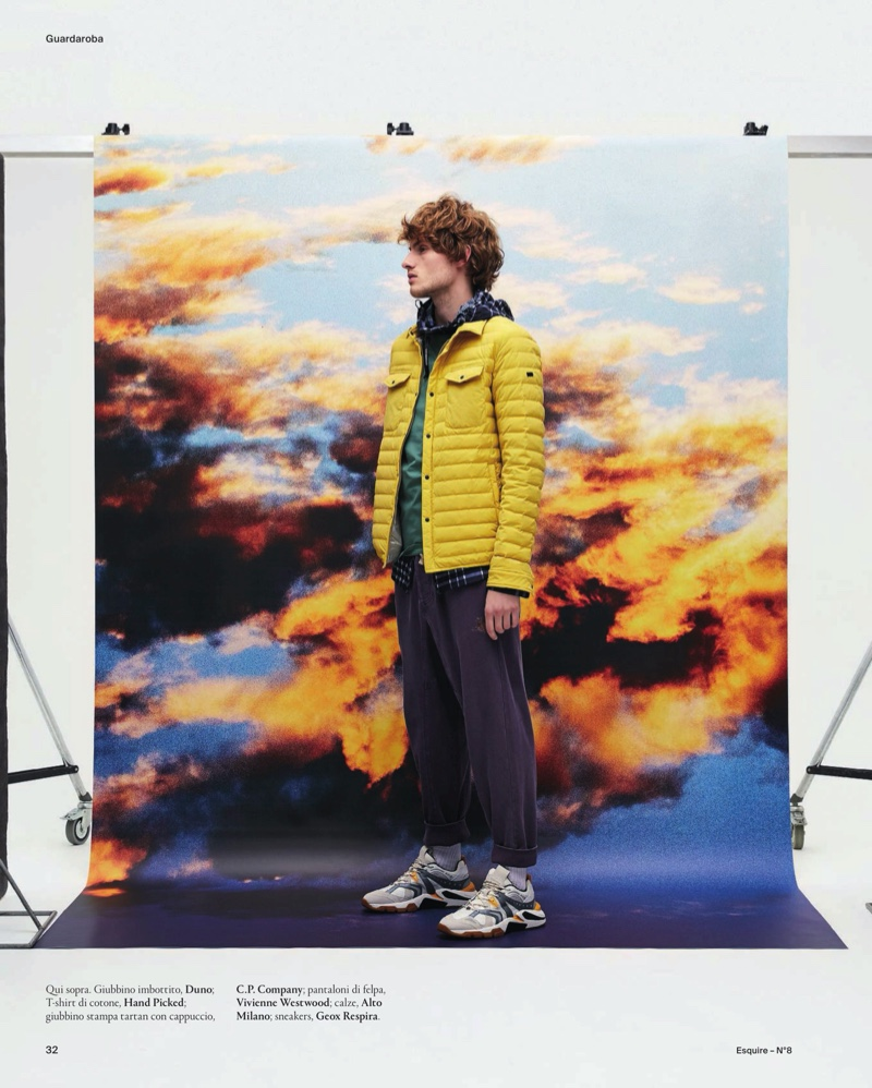 Panorama: Lemmie Dresses for the Outdoors with Esquire Italia