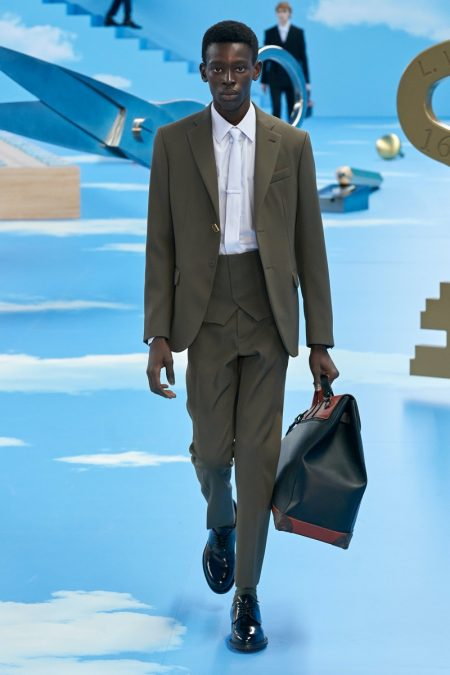 Virgil Abloh Revisits the Suit with Louis Vuitton Fall '20 Collection
