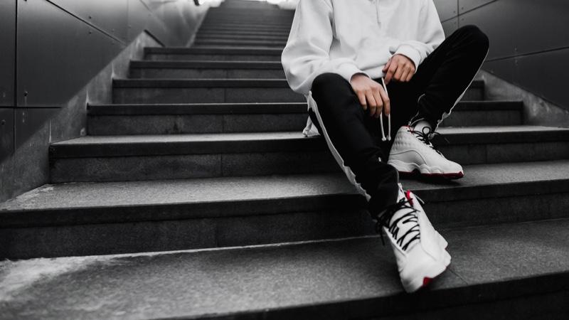 Male Hypebeast Cool Sneakers Streetwear Cropped