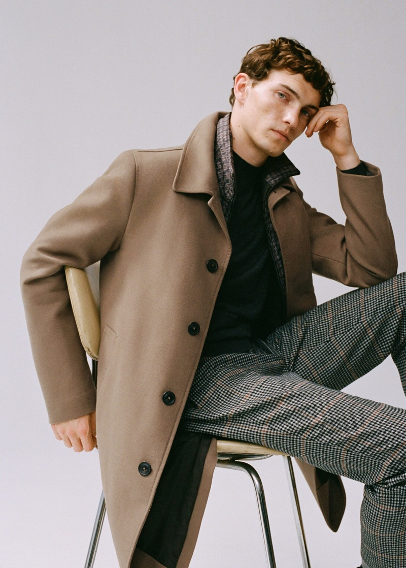 A Flawless Combination: Luc Dons Mango Menswear