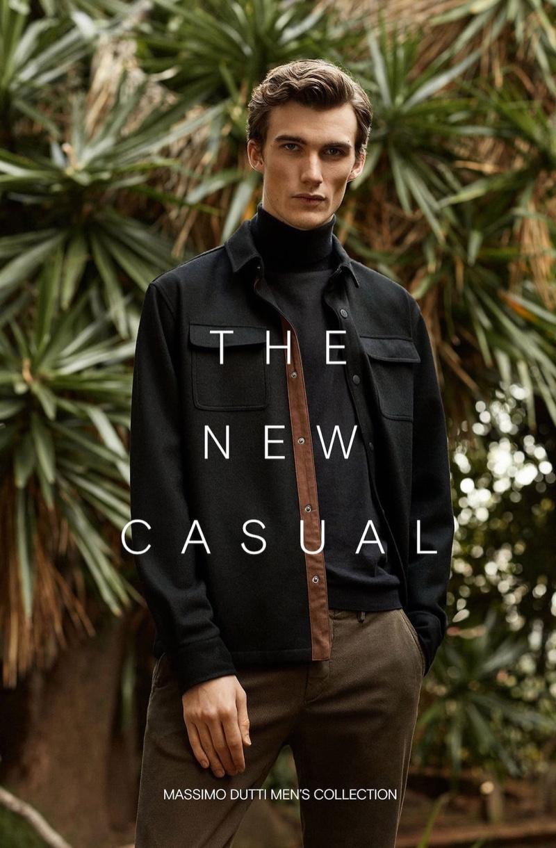 Massimo Dutti 2020 Men's New Casual