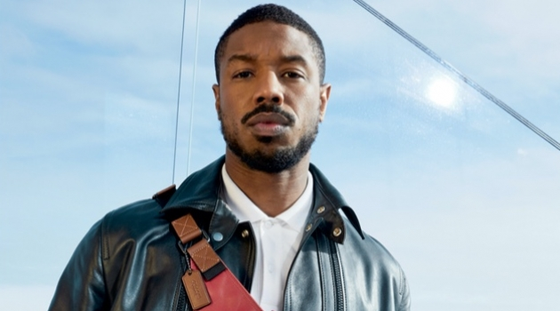Juergen Teller photographs Michael B. Jordan for Coach's spring-summer 2020 campaign.