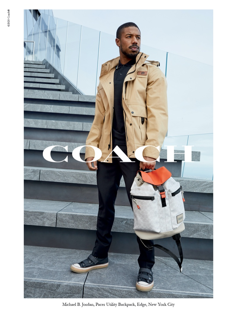 Actor Michael B. Jordan reunites with Coach for its spring-summer 2020 campaign.