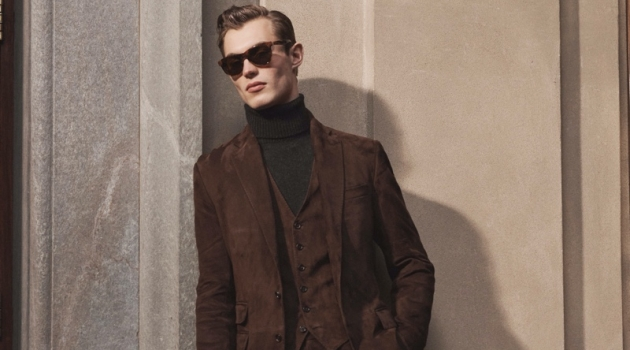 Ralph Lauren Purple Label Delivers Dapper Fall '20 Collection