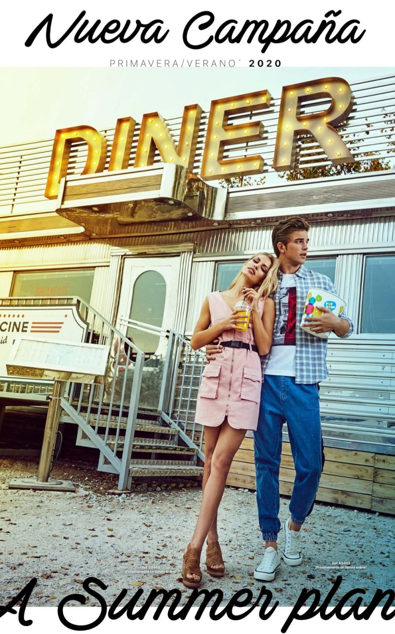 Models Jessica Goicoechea and River Viiperi star in Refresh Shoes' spring-summer 2020 campaign.