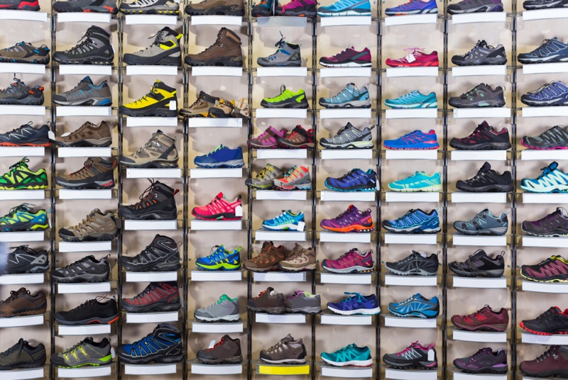 Sneaker Selection Store