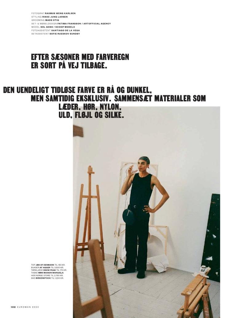 Paint It Black: Sol Goss for Euroman