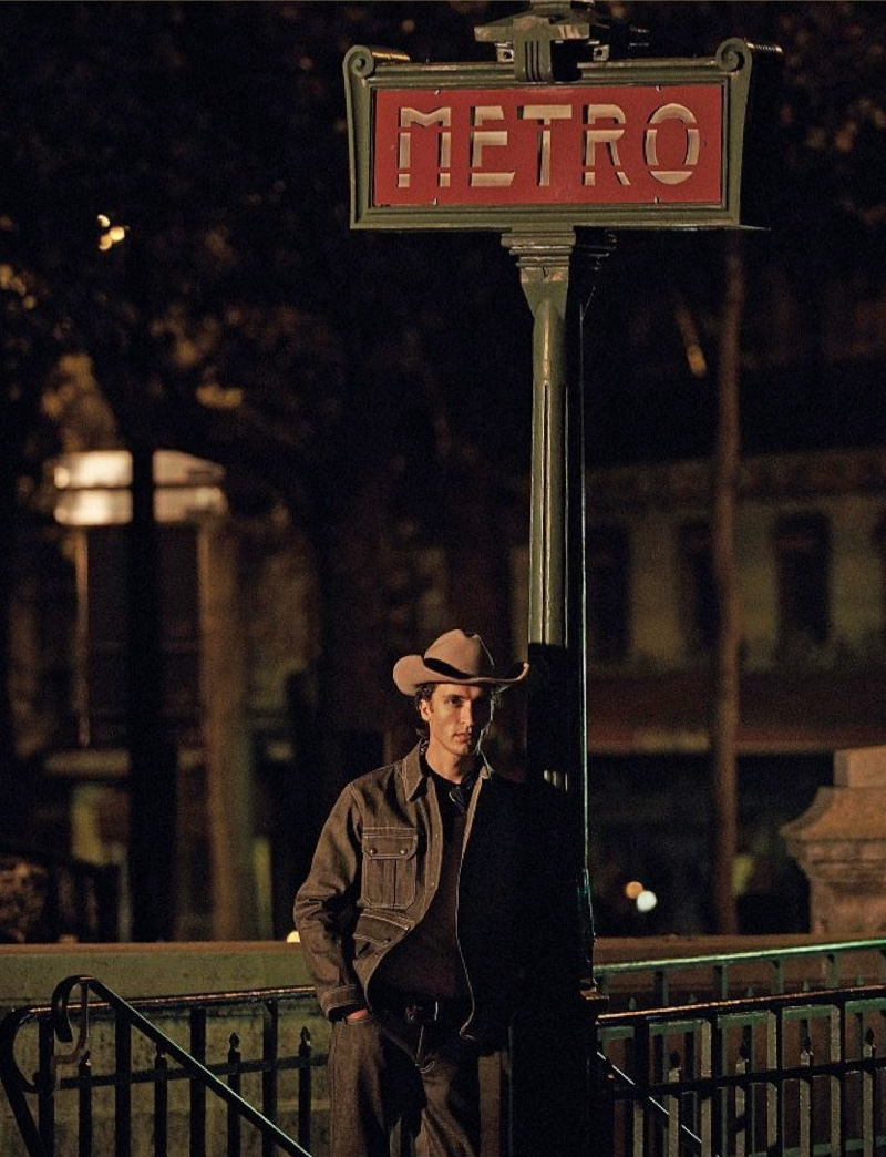 Midnight Cowboy: Tim Dibble for Style Magazine Italia
