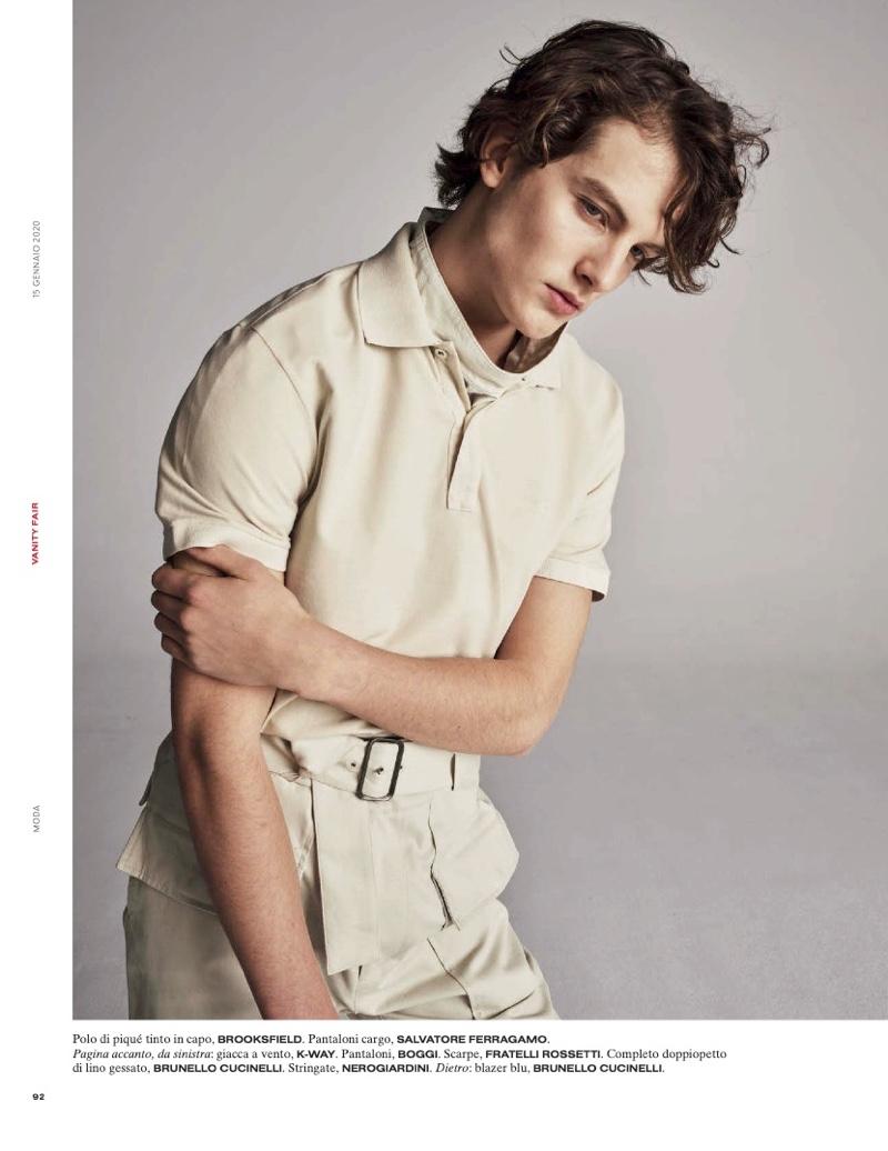 The New Gentlemen: Kajus & Liam for Vanity Fair Italia