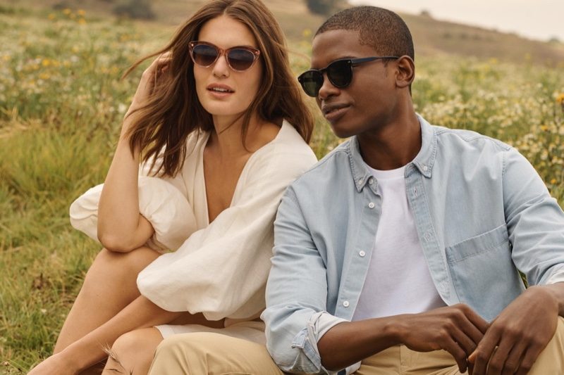 A stylish spring is within reach with Warby Parker's (pictured left to right) Leta and Hayes sunglasses.