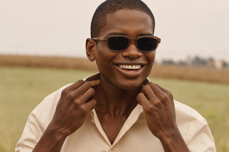 Make a cool statement in brown with Warby Parker's Brewer sunglasses.