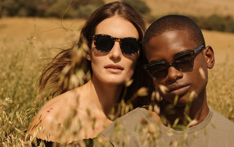Warby Parker embraces spring sentiments with its (pictured left to right) Hayes and Beale eyewear.