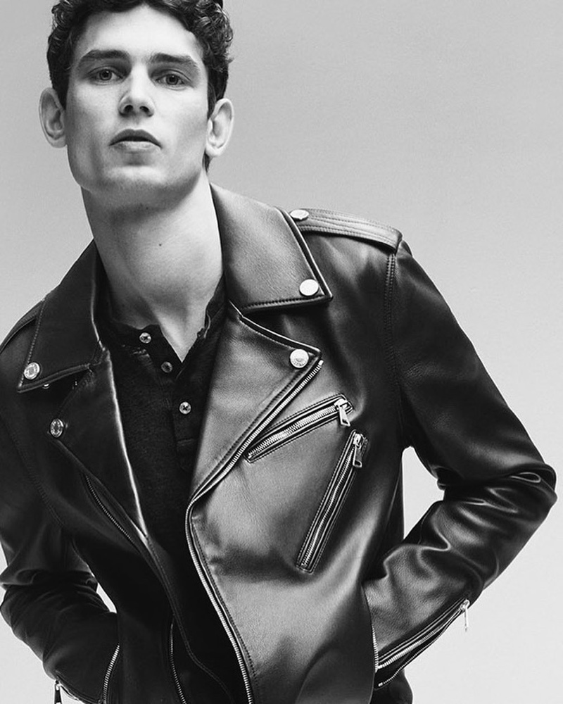 Arthur Gosse stars in 7 For All Mankind's spring-summer 2020 campaign.