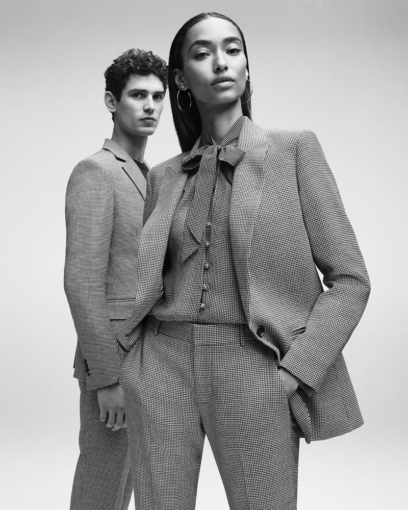 7 For All Mankind enlists Arthur Gosse and Anais Mali as the stars of its spring-summer 2020 campaign.