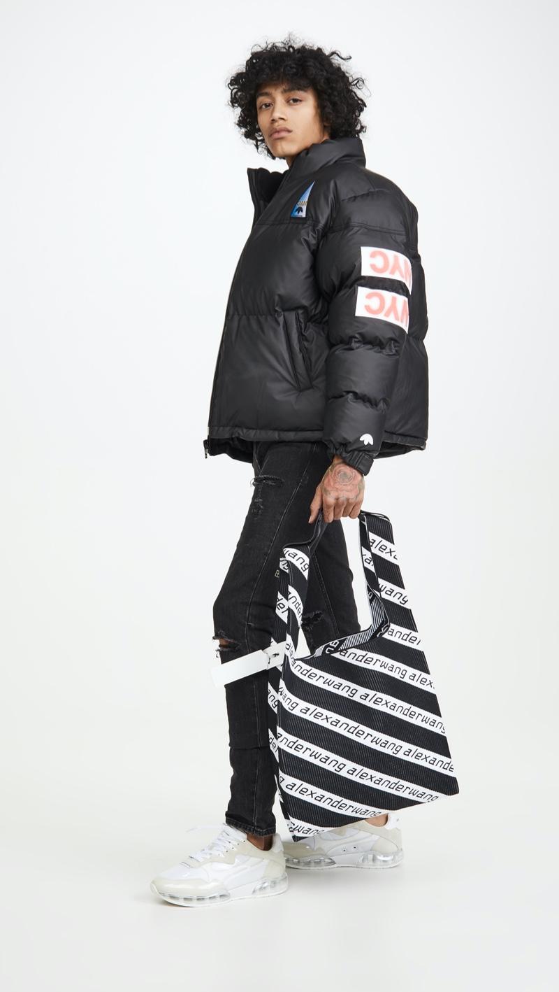 Alexander Wang Large Knit Shopper Bag