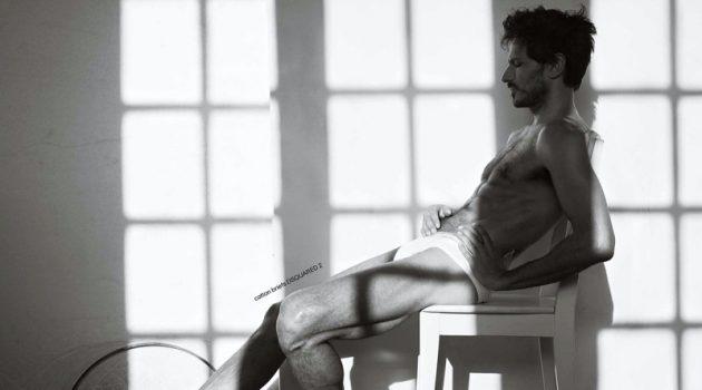 Andres Velencoso Strips Down for Les Hommes Publics