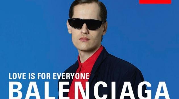 Jarno Parkkima appears in Balenciaga's spring-summer 2020 campaign.