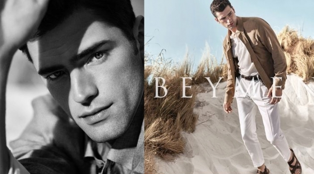 Sean O'Pry is Picture-Perfect for Beymen Spring '20 Campaign