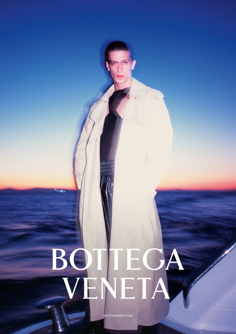 Edoardo Sebastianelli stars in Bottega Veneta's spring-summer 2020 campaign.