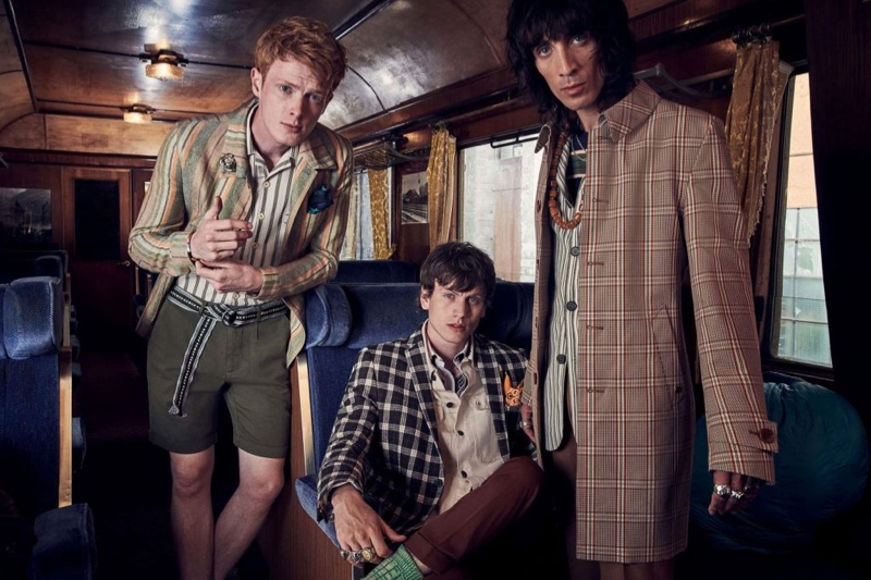 Club of Gents enlists Linus Wordemann, Sid Ellisdon, and Juan Milan as the stars of its spring-summer 2020 campaign.