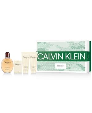 Calvin Klein Men's 4-Pc. Obsession Eau de Toilette Gift Set