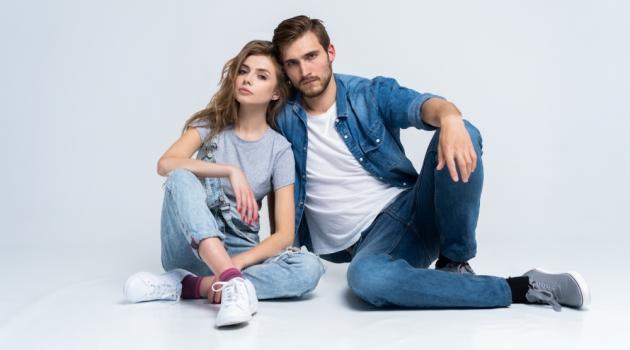 Couple in Denim