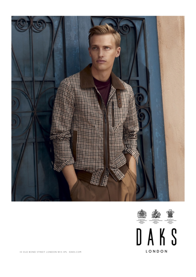 Daks enlists Victor Nylander as the star of its spring-summer 2020 campaign.