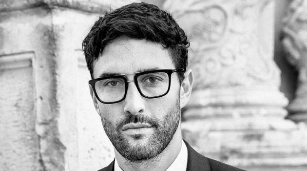 Noah Mills stars in Dolce & Gabbana's spring-summer 2020 men's eyewear campaign.