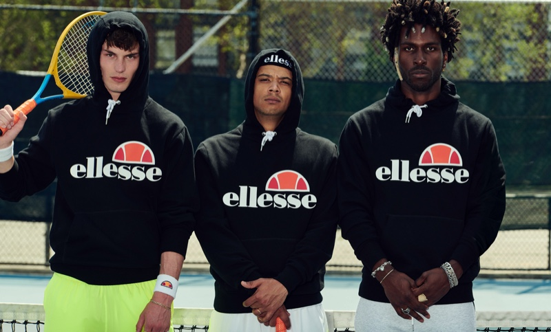 Ellesse enlists Kit Butler, Raleigh Ritchie, and SAINt JHN as the stars of its spring-summer 2020 campaign.