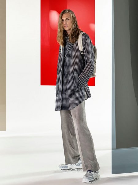 Emporio Armani Delivers Graphic Prints & Neutrals for Spring '20 Collection