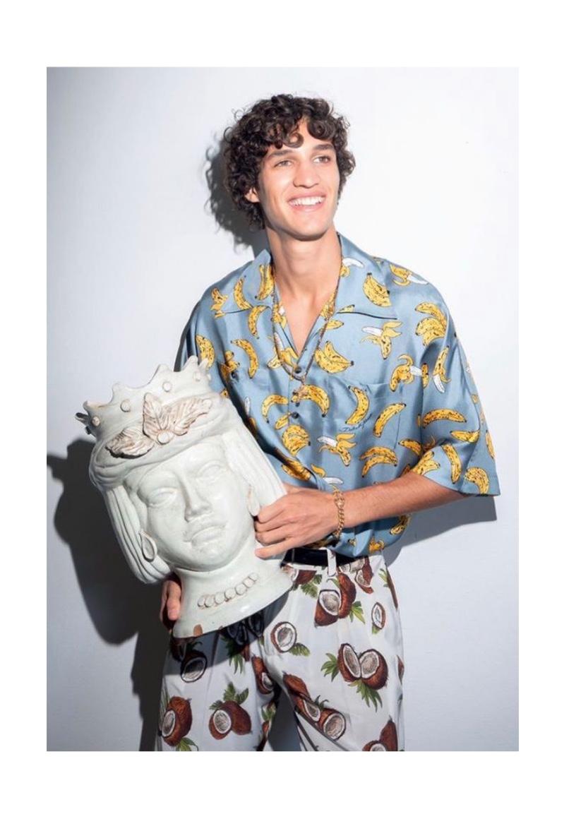 Francisco is Safari-Ready in Dolce & Gabbana for GQ Brasil