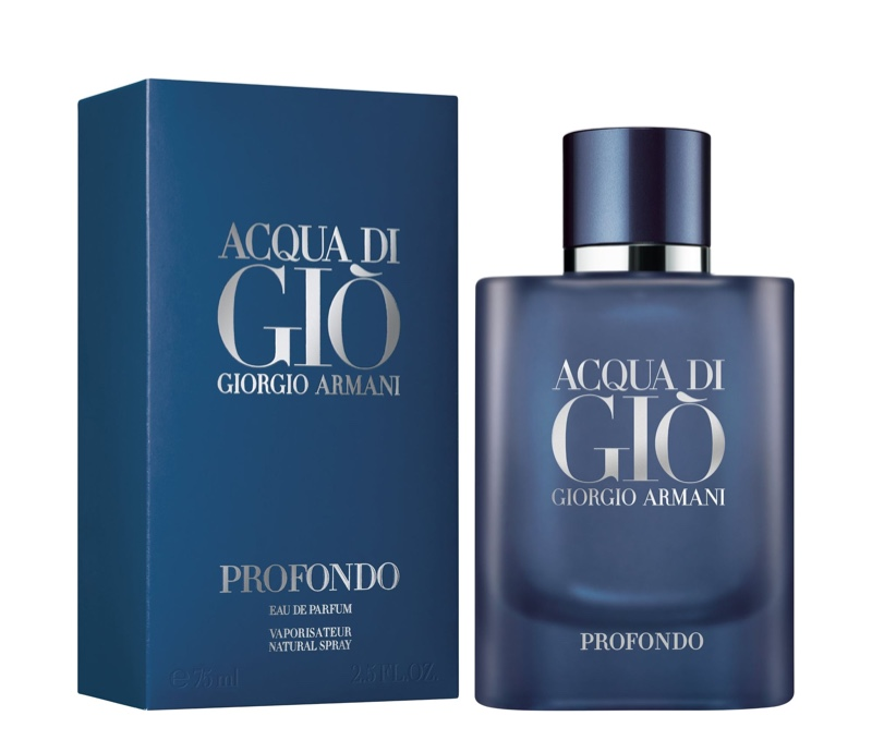 Giorgio Armani Acqua di Gio Profondo Fragrance Packaging