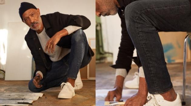 Lono Brazil sports Freefit slim jeans from H&M.