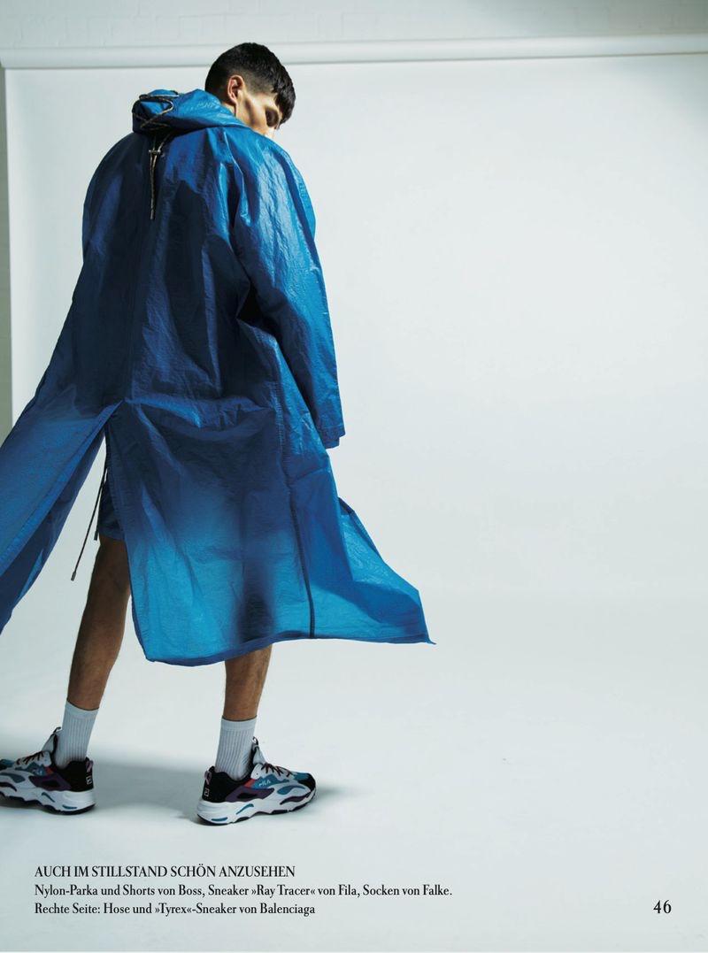 Islam Dulatov Sports Sneakers for Zeit Magazine