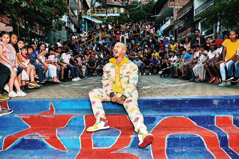 Singer J Balvin reunites with GUESS for its spring-summer 2020 campaign.