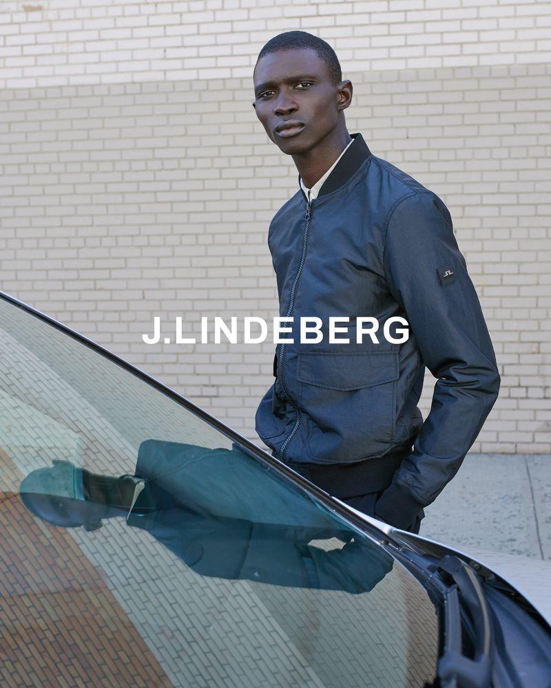 Fernando Cabral fronts J.Lindeberg's spring-summer 2020 campaign.