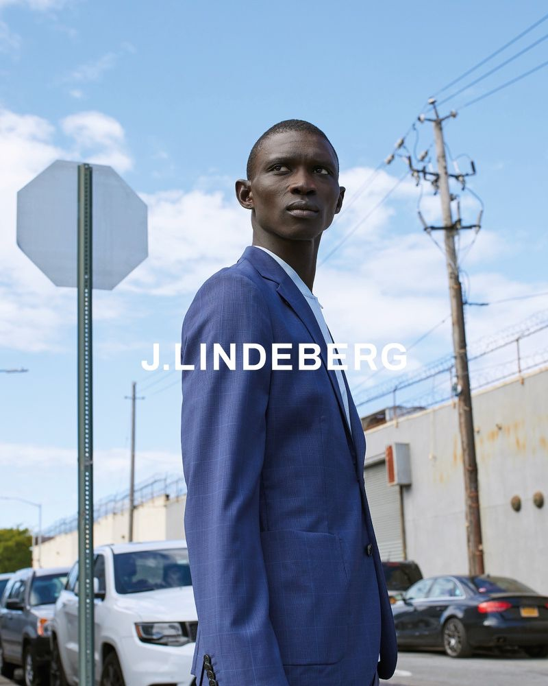 J.Lindeberg enlists Fernando Cabral as the star of its spring-summer 2020 campaign.