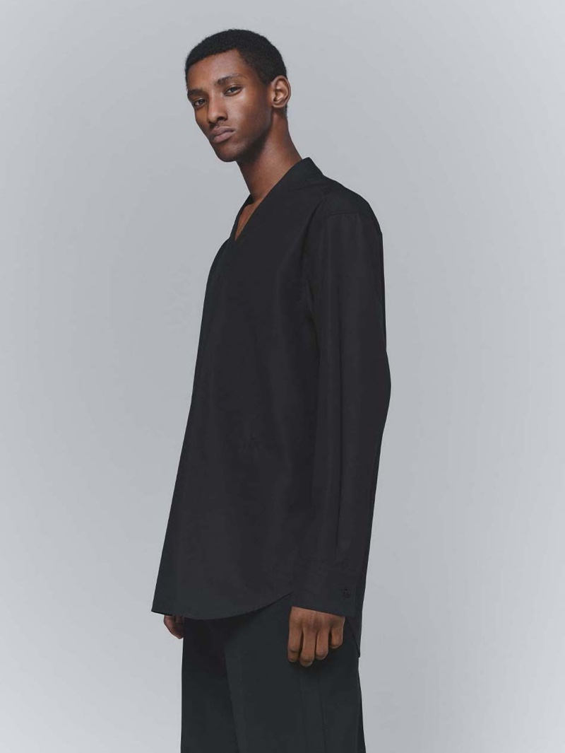 Myles Dominique Goes Minimal in Jil Sander for MatchesFashion