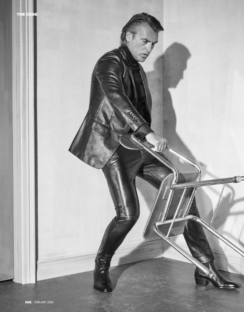 Next-Level Leather: John Pearson for Esquire Taiwan