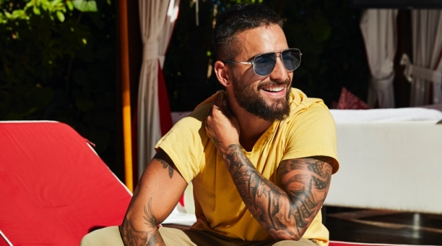 Maluma Relaxes Poolside with Men's Health, Talks 'Marry Me'