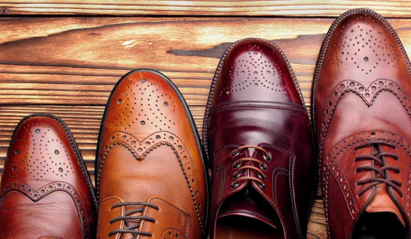 Men's Dress Shoes in Brown Shades