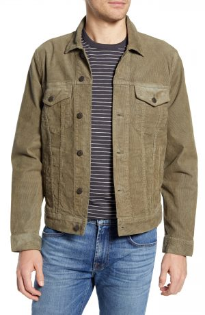 Men's Madewell Classic Jean Jacket Corduroy Edition