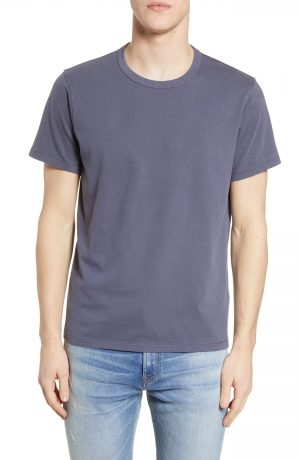 Men's Madewell Garment Dyed Allday Crewneck T-Shirt, Size X-Small - Blue
