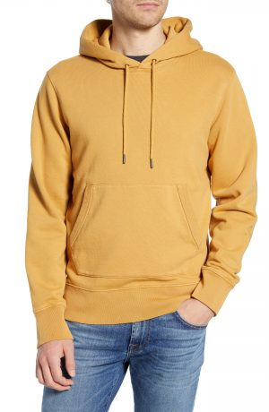 Men's Madewell Hooded Sweatshirt, Size X-Small - Yellow