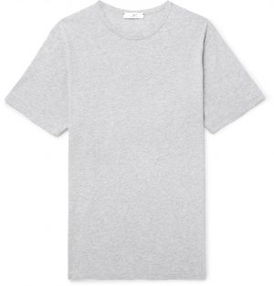 Mr P. - Cotton-Jersey T-Shirt - Men - Gray