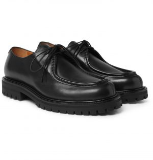 Mr P. - Jacques Leather Derby Shoes - Men - Black