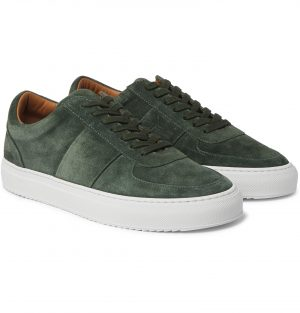 Mr P. - Larry Suede Sneakers - Men - Green