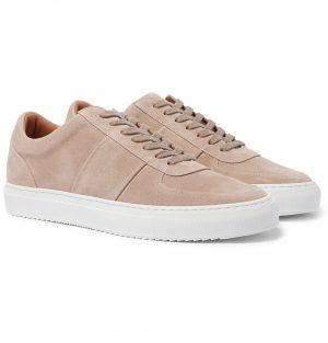 Mr P. - Larry Suede Sneakers - Men - Neutrals