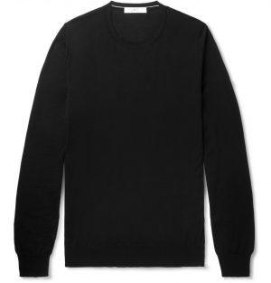 Mr P. - Slim-Fit Cashmere Sweater - Men - Black